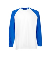 61-028-0 - VALUEWEIGHT LONG SLEEVE BASEBALL T