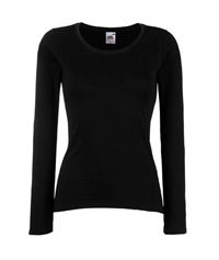 61-404-0 - LADY-FIT VALUEWEIGHT LONG SLEEVE T