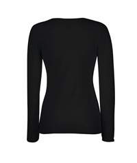 61-384-0 - LADY-FIT LONG SLEEVE CREW NECK T