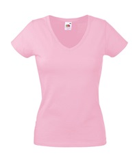 61-398-0 - LADY-FIT VALUEWEIGHT V-NECK T