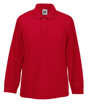63-201-0 - KIDS 65/35 LONG SLEEVE POLO