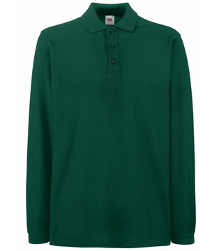 63-310-0 - PREMIUM LONG SLEEVE POLO