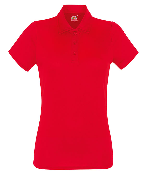 63-040-0 - LADY-FIT PERFORMANCE POLO
