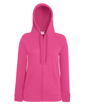 62-150-0 - LADY-FIT LIGHTWEIGHT HOODED SWEAT JACKET
