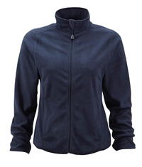 R-883F-0 - LADIES' FITTED FULL ZIP MICROFLEECE