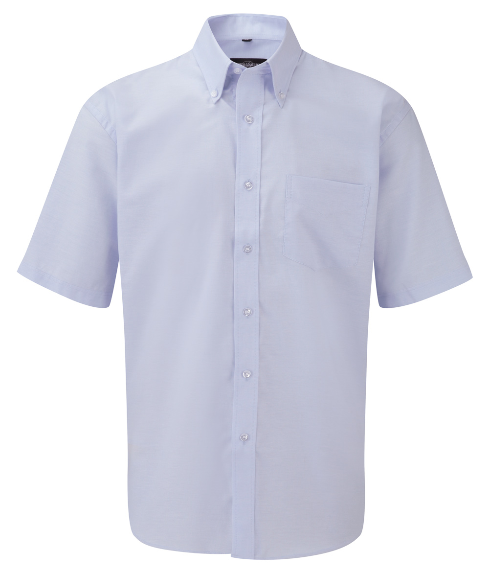 R-933M-0 - MEN'S SHORT SLEEVE EASY CARE OXFORD SHIRT