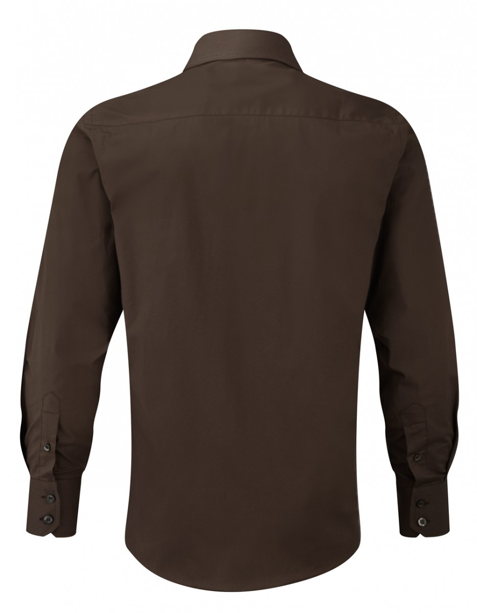 R-946M-0 - MEN'S LONG SLEEVE EASY CARE FITTED SHIRT