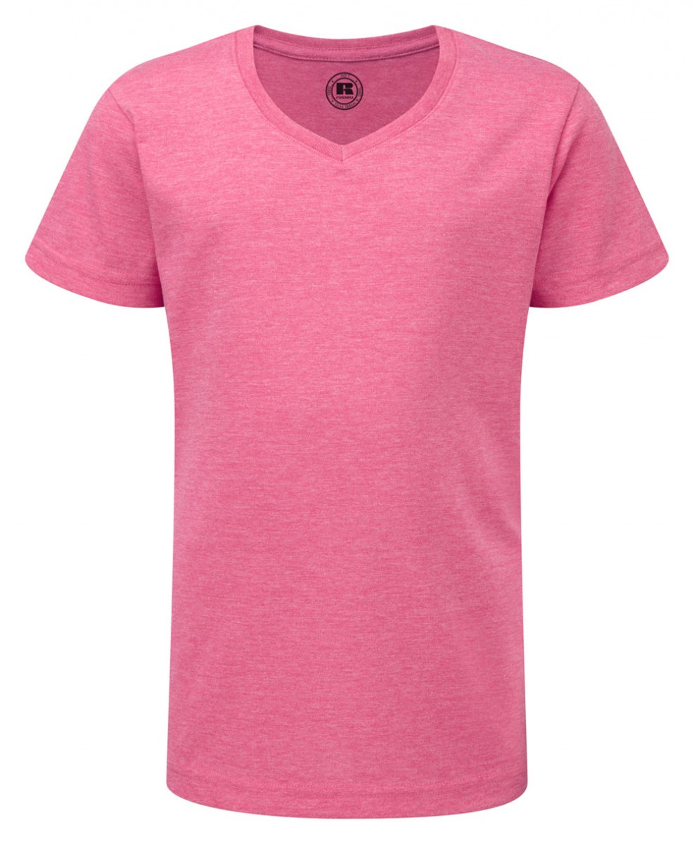 R-166G-0 - GIRLS V-NECK HD T