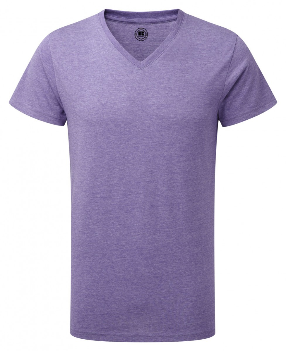 R-166M-0 - MEN'S V-NECK HD T